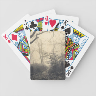 Fontainebleau Forest Bicycle Playing Cards