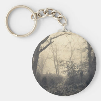 Fontainebleau Forest Key Ring