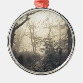 Fontainebleau Forest Metal Ornament