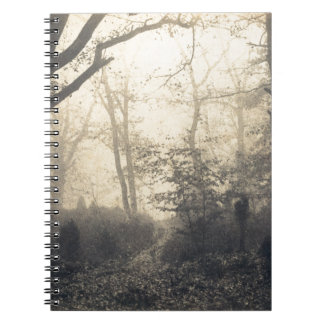 Fontainebleau Forest Spiral Notebook