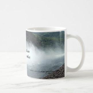 Fontana Dam spilling water in North Carolina mug
