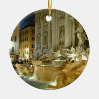 Fontana di Trevi Ceramic Ornament