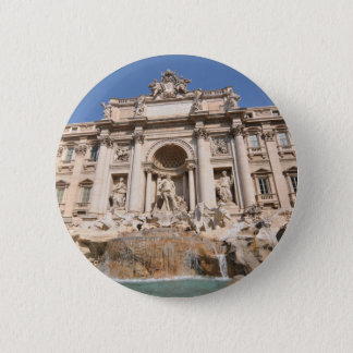 Fontana di Trevi in Rome, Italy 6 Cm Round Badge