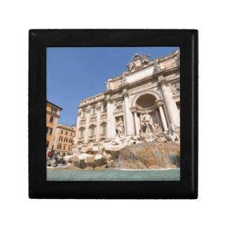 Fontana di Trevi in Rome, Italy Small Square Gift Box