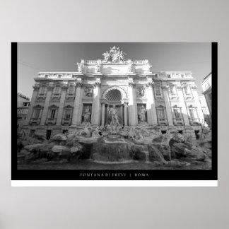 Fontana di Trevi - Trevi Fountain Posters