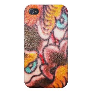 Foo Dog Tattoo iPhone 4/4S Covers