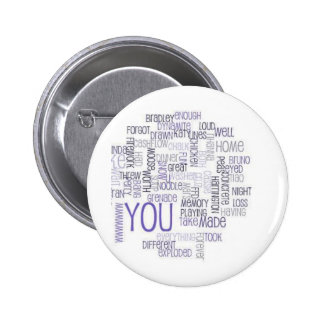 Food 6 Thought Pinback Buttons