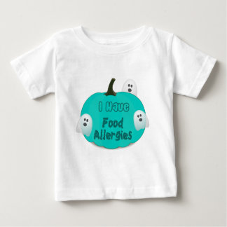 Food Allergies Teal Pumpkin Halloween Apparel Baby T-Shirt