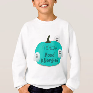 Food Allergies Teal Pumpkin Halloween Apparel Sweatshirt