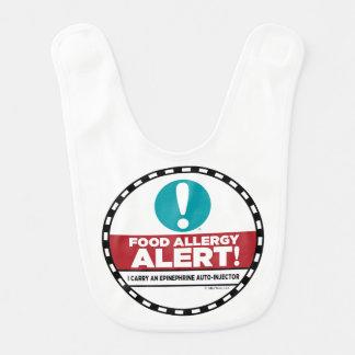 Food Allergy Alert Bib