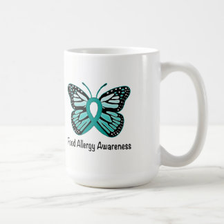 Food Allergy Awareness Butterfly Coffee Mug
