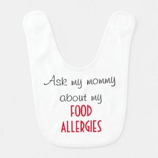 Food Allergy Bib