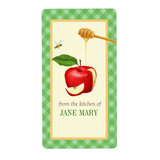 Food and Baking Goods Label Sticker Shipping Label