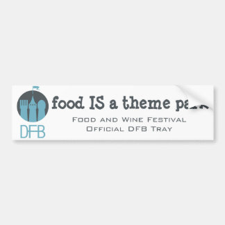 Food and Wine Festival DFB Tray Sticker