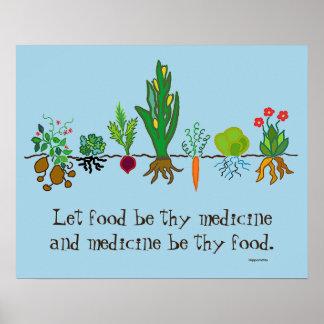 food as medicine poster