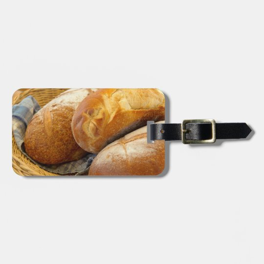 Food - Bread - Just loafing around Bag Tag
