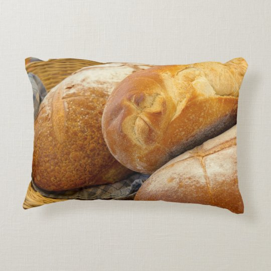 Food - Bread - Just loafing around Decorative Cushion