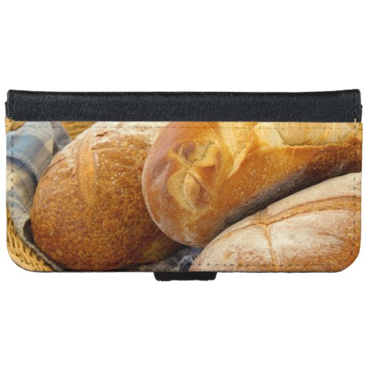 Food - Bread - Just loafing around iPhone 6 Wallet Case