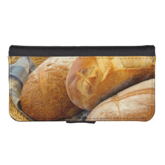 Food - Bread - Just loafing around iPhone SE/5/5s Wallet Case