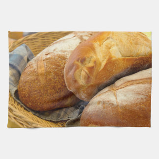 Food - Bread - Just loafing around Tea Towel