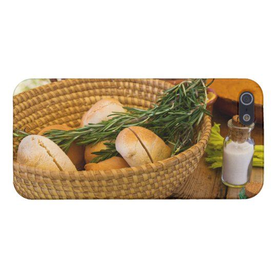 Food - Bread - Rolls and Rosemary Cover For iPhone 5/5S