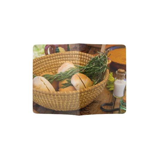 Food - Bread - Rolls and Rosemary Passport Holder