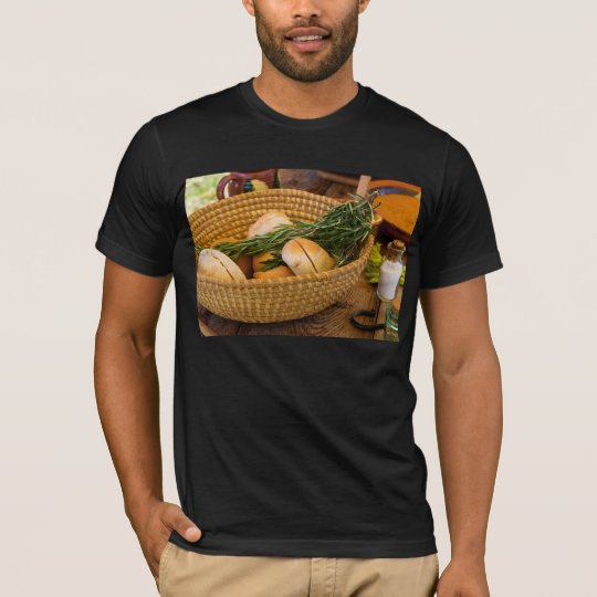 Food - Bread - Rolls and Rosemary T-Shirt