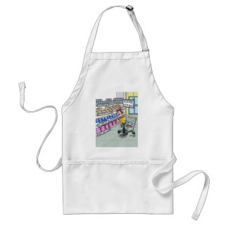 Food Cartoon 9374 Standard Apron