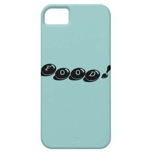 Food! iPhone 5 Cases