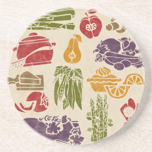 Food Celebration Coaster