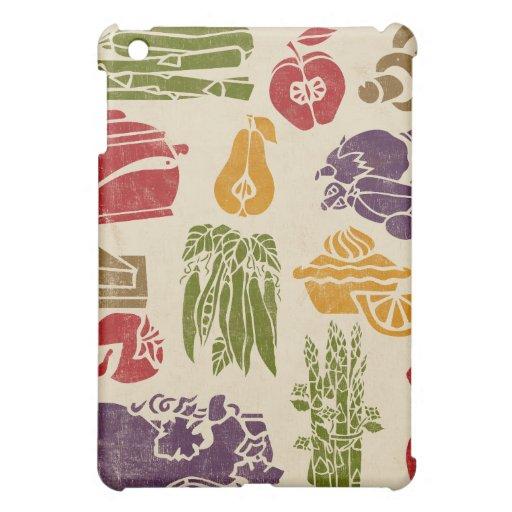 Food Celebration  Cover For The iPad Mini
