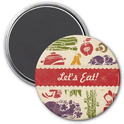 Food Celebration Kitchen Magnet