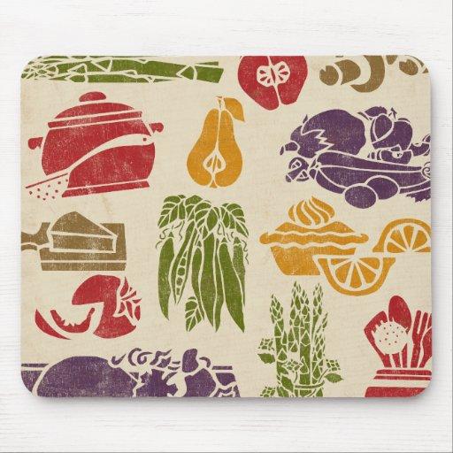 Food Celebration Mousepad