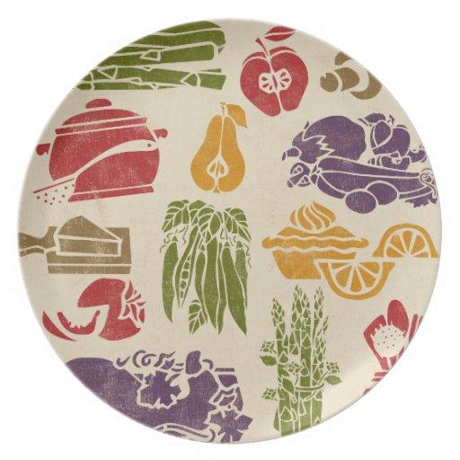 Food Celebration Plate