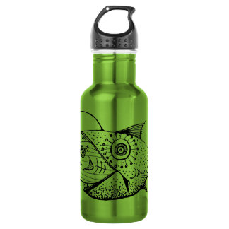 Food Chain Stainless Steel Water Bottle