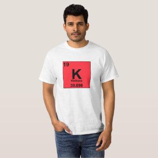 Food Chemistry Periodic Table: Kielbasa/Potassium T-Shirt
