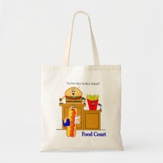 Food Court Budget Tote Bag
