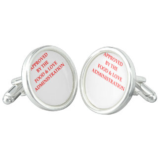 FOOD CUFF LINKS