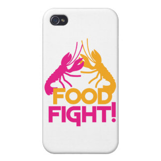 food fight! lobsters crayfish cases for iPhone 4