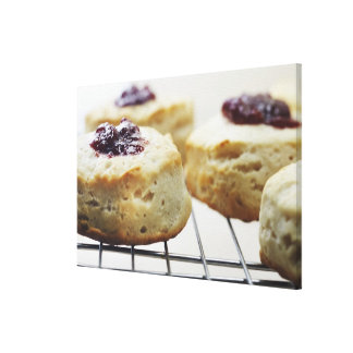Food, Food And Drink, Buttermilk, Biscuit, Canvas Print