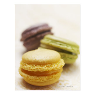 Food, Food And Drink, Dessert, Cookie, French, Postcard