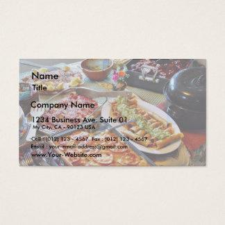 Food For Diner Business Card