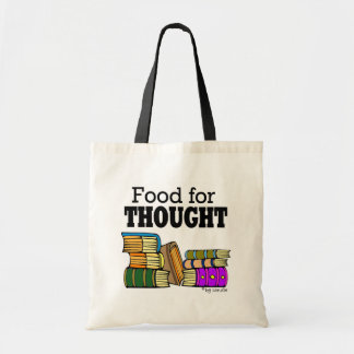 Food for Thought Budget Tote Bag
