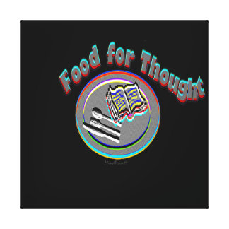 Food For Thought Canvas Print