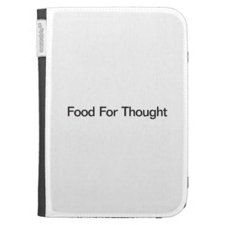 Food For Thought Case For The Kindle