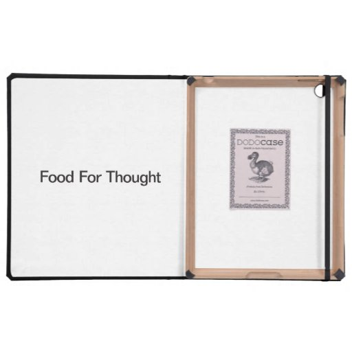 Food For Thought iPad Covers