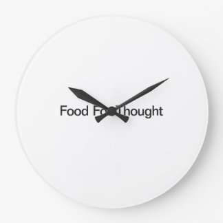 Food For Thought Wall Clocks