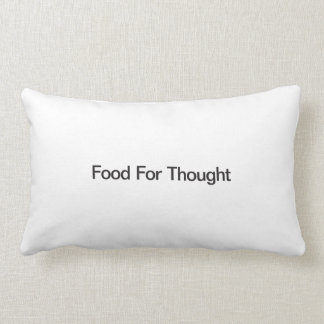 Food For Thought Pillows