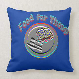 Food For Thought Cushion
