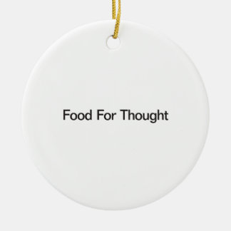Food For Thought Ornament